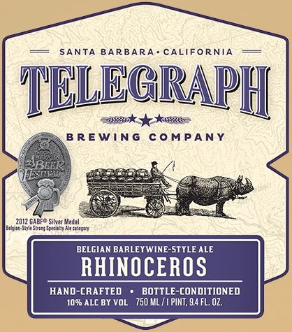 Logo of Telegraph Rhinoceros 2012