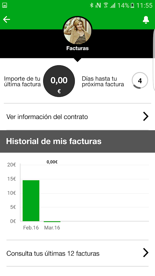 Mi amena.com- screenshot