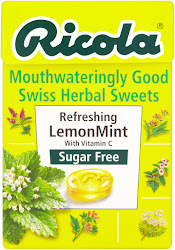 Ricola Mouthwateringly Good Swiss Herbal Sweets - Refreshing Lemon Mint, 45g