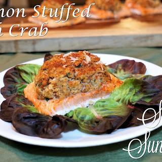 Salmon Stuffed with Crab Recipe