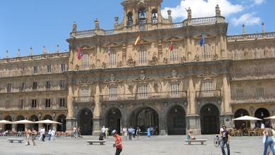 Photo: Plaza Mayor in Salamanca