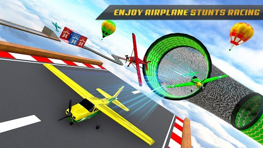 Airplane Stunts 3D: Extreme City GT Racing Plane 7