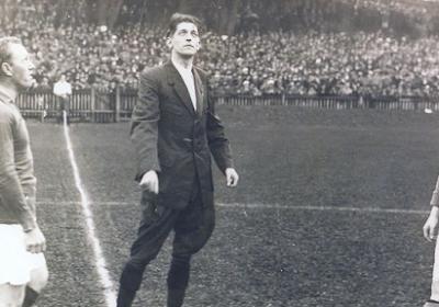 """John Langenus, un Belge en finale du Mondial 1930 : """"C'était une star"""""""
