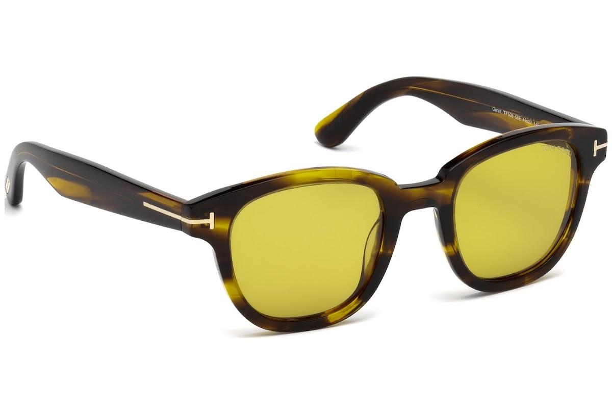Tom Ford Sonnenbrille »Garett FT0538«, braun, 50E - braun/braun
