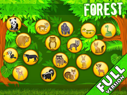 Forest - Kids Coloring Puzzles