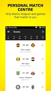 African Cup by Scores & Video- screenshot thumbnail