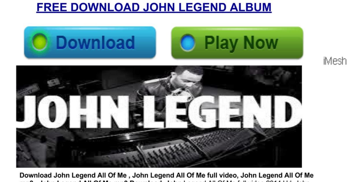 Tapori John Legend All Of Me Mp3 Download Full Album Google Drawings