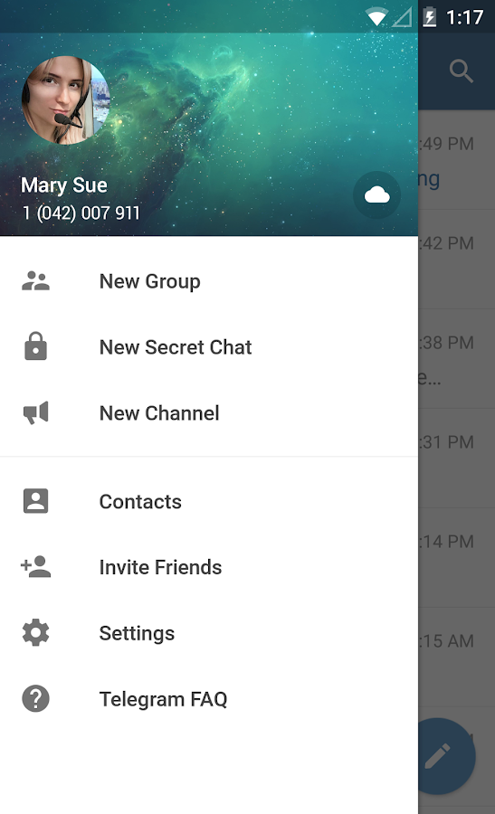 Telegram- screenshot