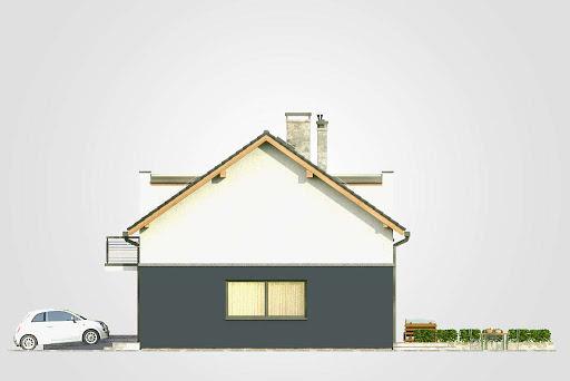 Double House - Elewacja prawa