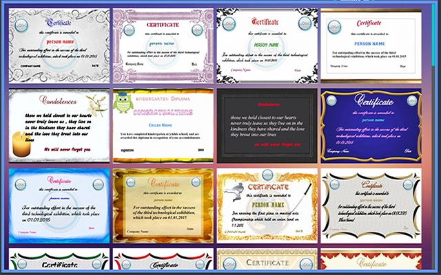 Certificate maker free chrome web store yelopaper Gallery