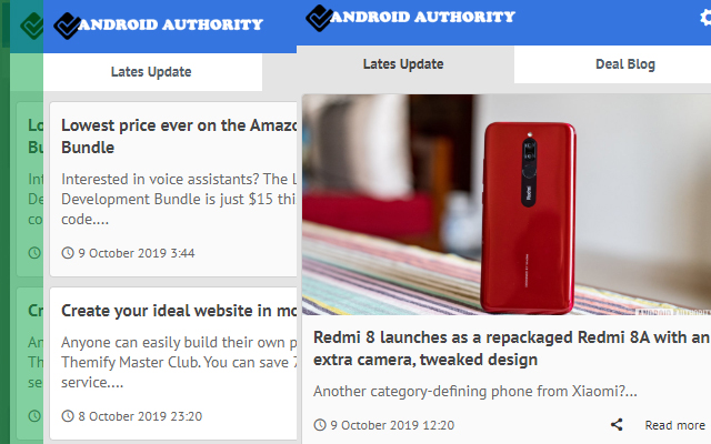 Android Authority - Latest Blog News Update