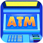 ATM Simulator Cash and Money Icon