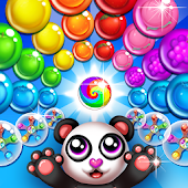 Panda Bubble Fun Puzzle