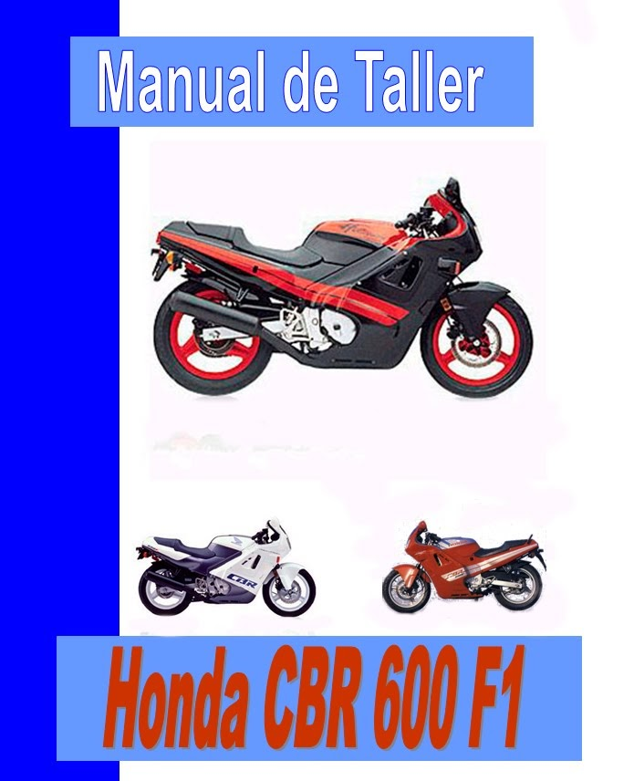 honda CBR 600 f Hurricane-manual-taller-mecanica-despiece
