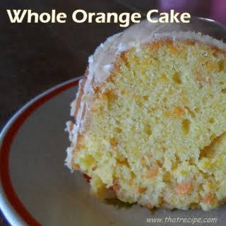 Whole Orange Cake.
