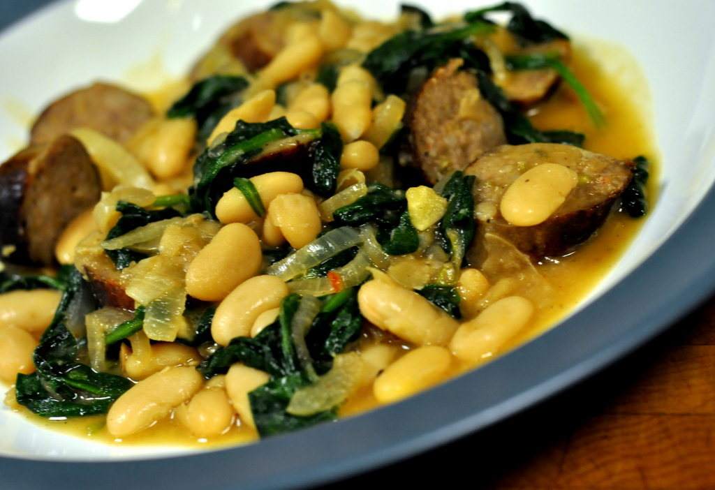 Italian Sausage and White Bean Stew