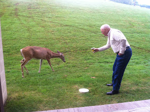 Photo: Dick made a new friend.