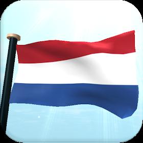 Нидерланды Флаг 3D Бесплатных