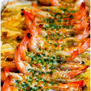 Baked Prawns Garlic Recipes