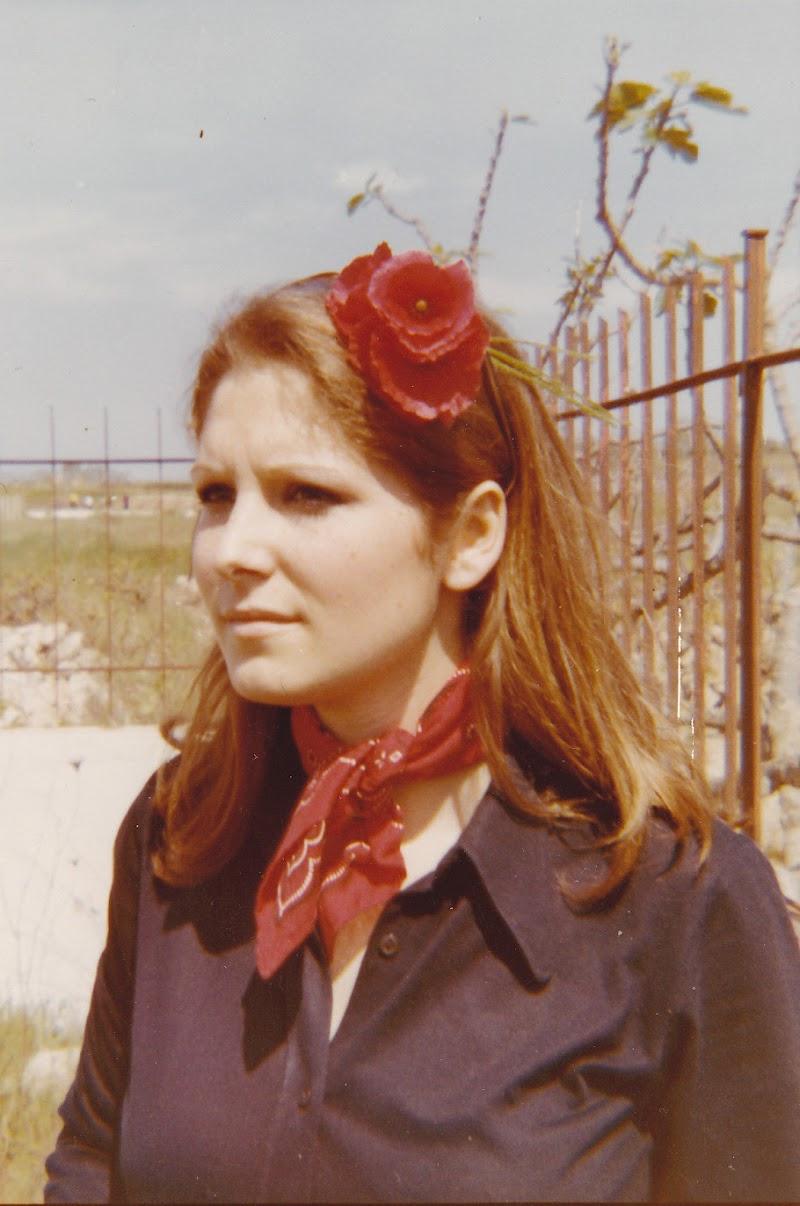 foto vintage anni '70 di seria
