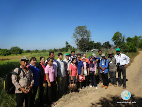 Photo: Farmer Exchange Visit Participants from Cambodia, Lao PDR and Thailand, Chumphonburi, Surin