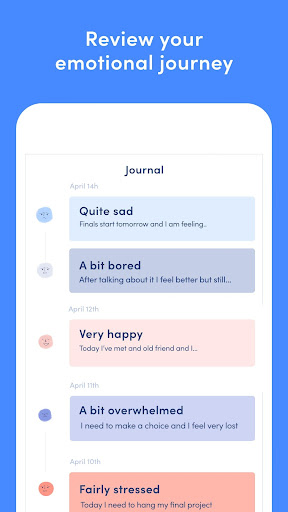 Online Therapy, Emotional diary, Mindfulness tools screenshot 6