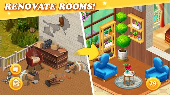 Dream Home Match Mod Apk (Unlimited Money and stars) 1