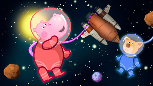 Space for kids. Adventure game android2mod screenshots 13