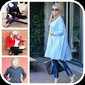 Hijab Jeans Fashion Selfie icon