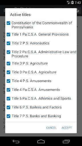 Pennsylvania Statutes 2018 (all free offline) 0.01 screenshots 6