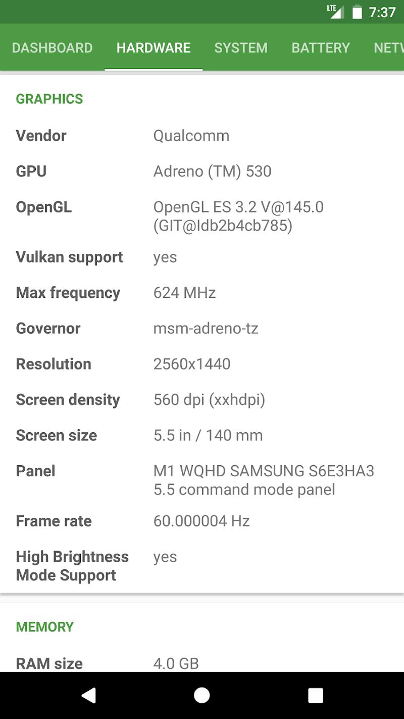 DevCheck Hardware and System Info Screenshot 1