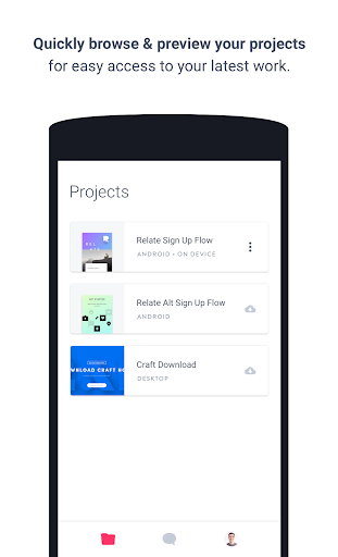 InVision for Android (Unreleased)  screenshots 1