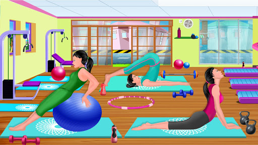 High School Fitness Athlete: Acrobat Workout Game android2mod screenshots 1