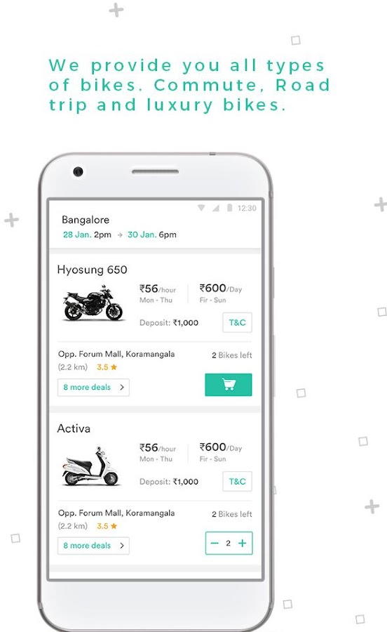 Wheelstreet - Bike Rentals- screenshot