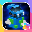 Cubed Rally World: Race, Drift, Dodge, Win! icon