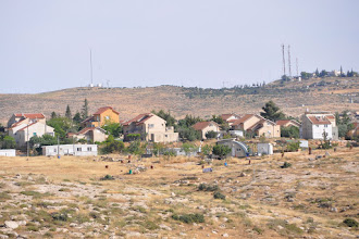 Photo: The nearby Jewish settlement