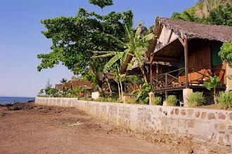 Photo: #002-L'heure bleue, mon bungalow