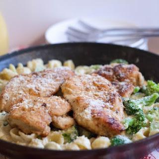 Garlic Herb Chicken Con Broccoli