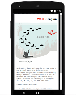 Goose Hunting App & Diagrams- screenshot thumbnail