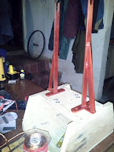 Photo: I knooooow IT supposed to be non-magnetic material. Notice the steel wheel in the background ;) for the second SSG