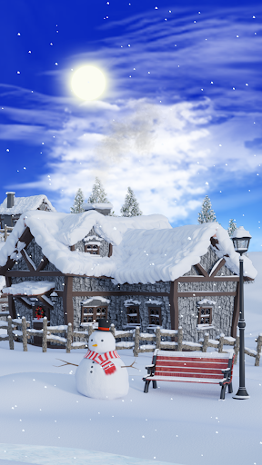 Christmas Village Live Wallpaper screenshot 2