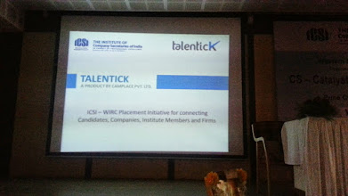 Photo: Talentick and ICSI WIRC Joint initiative..
