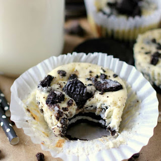 Oreo Mini Cheesecakes.