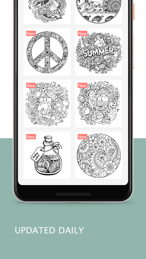 Tap Coloring - Color by Number, A Fun Art Game 1.0.2 screenshots 4