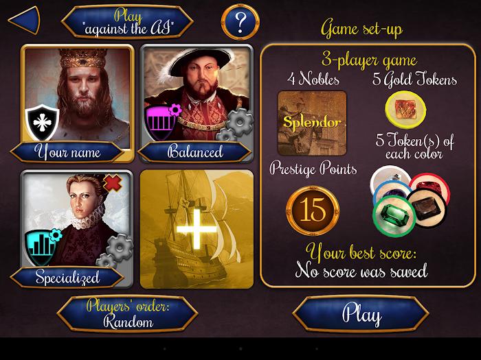 Splendor- screenshot