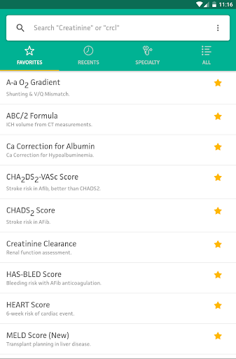 MDCalc Medical Calculator 1.0.22 screenshots 22