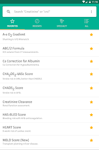 MDCalc Medical Calculator- screenshot thumbnail