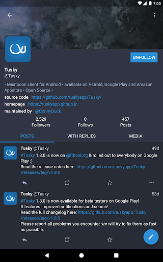 Tusky for Mastodon screenshot 14