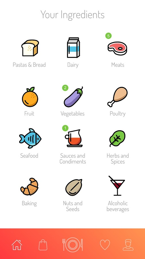 Bazil Recipes by Ingredients- screenshot