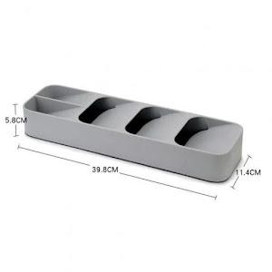 Organizator tacamuri pentru sertar, 39.6 x 11 x 5.5 cm